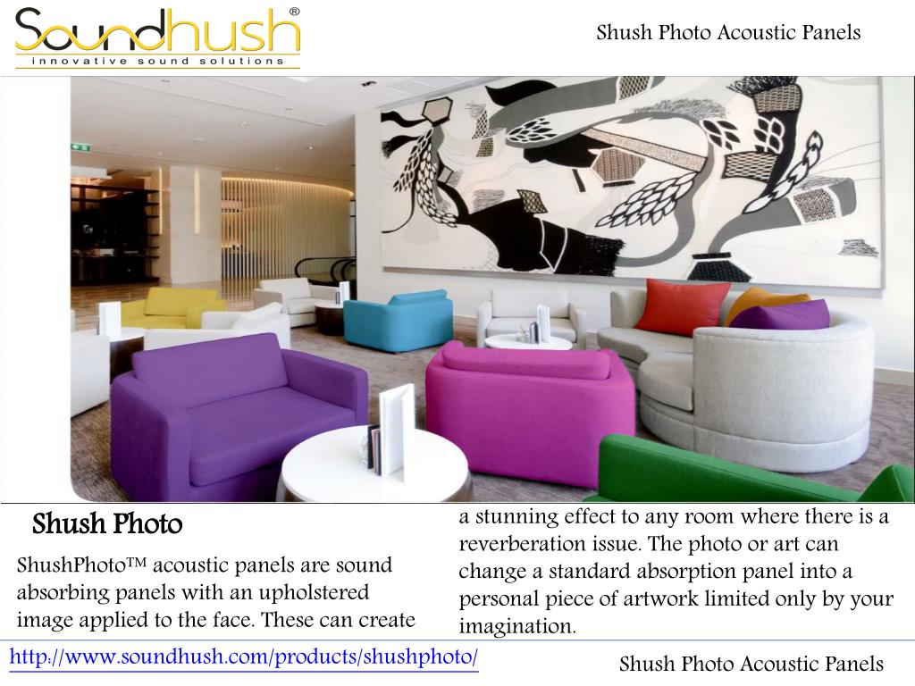 Ppt Shush Photo Acoustic Panels Powerpoint Presentation Free Download Id 7452680