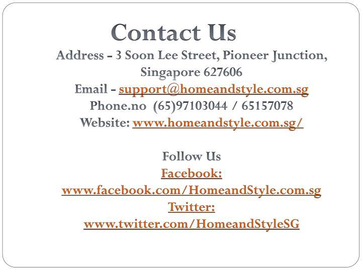 support@homeandstyle.com.sg