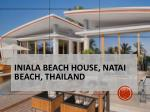 iniala beach house natai beach thailand