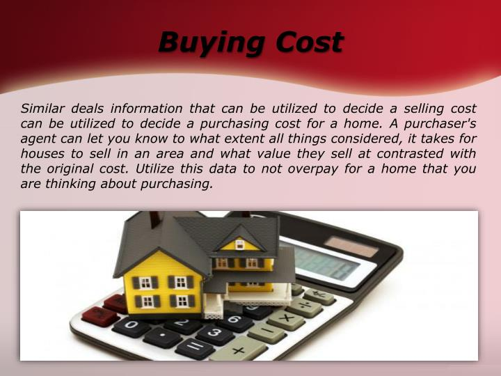 Buying Cost