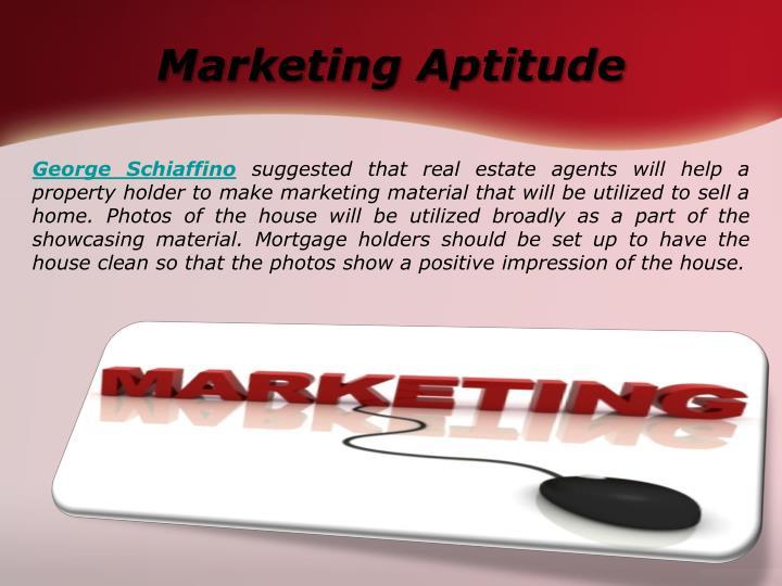 Marketing Aptitude