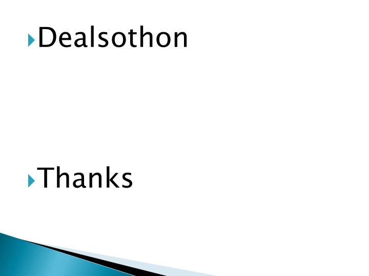 Dealsothon