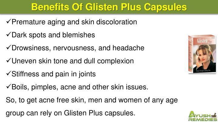 Benefits Of Glisten