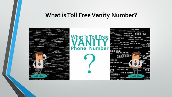 What is Toll Free Vanity Number?