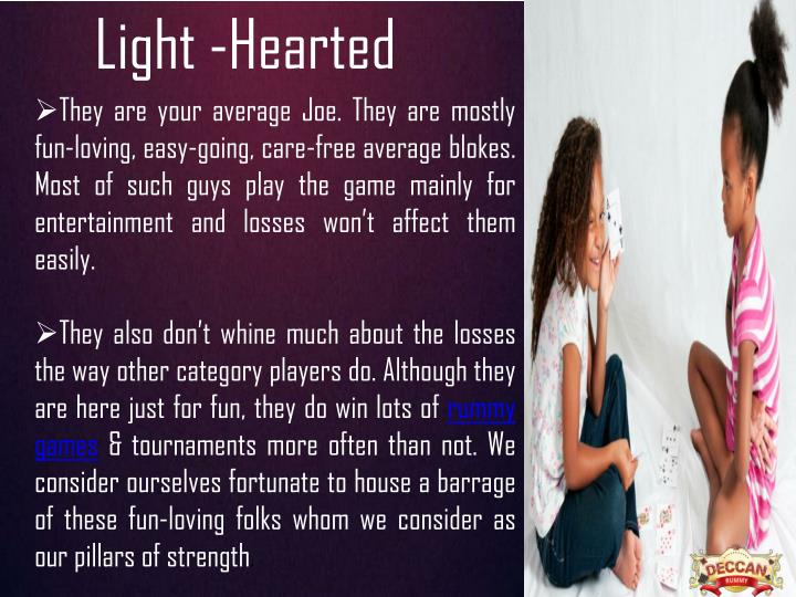 Light -Hearted
