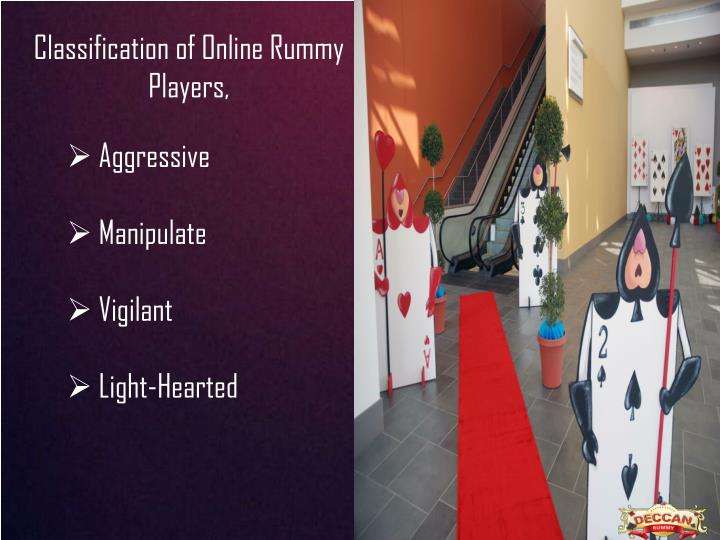Classification of Online Rummy Players,