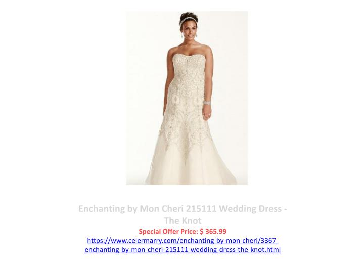 Enchanting by Mon Cheri 215111 Wedding Dress - The Knot