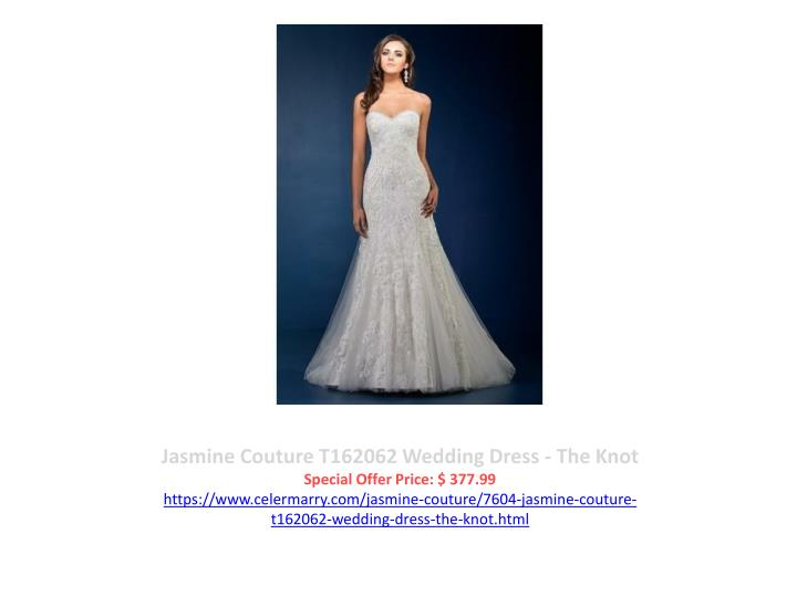 Jasmine Couture T162062 Wedding Dress - The Knot