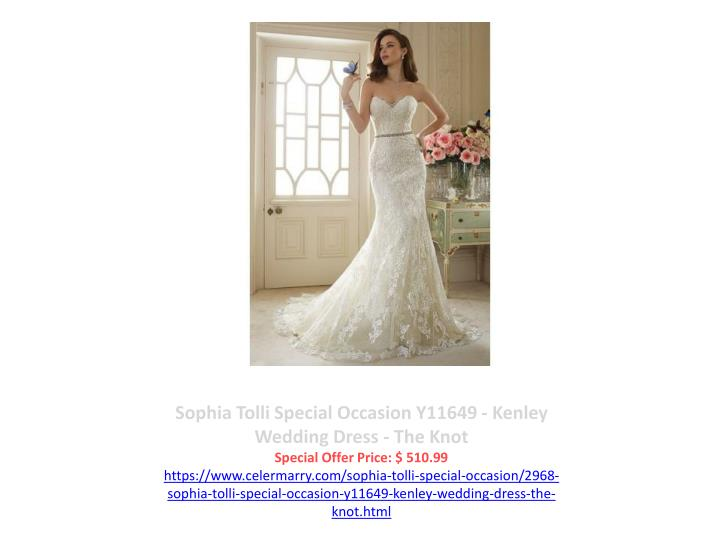 Sophia Tolli Special Occasion Y11649 - Kenley Wedding Dress - The Knot