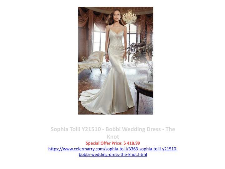 Sophia Tolli Y21510 - Bobbi Wedding Dress - The Knot