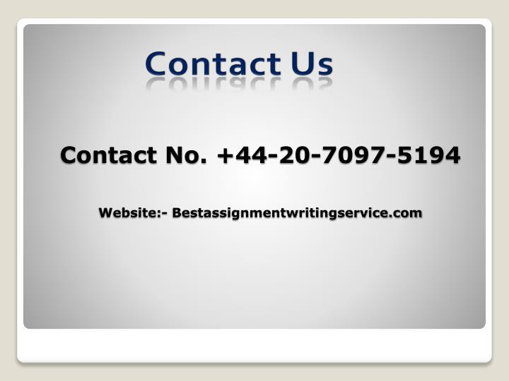Contact No. +44-20-7097-5194