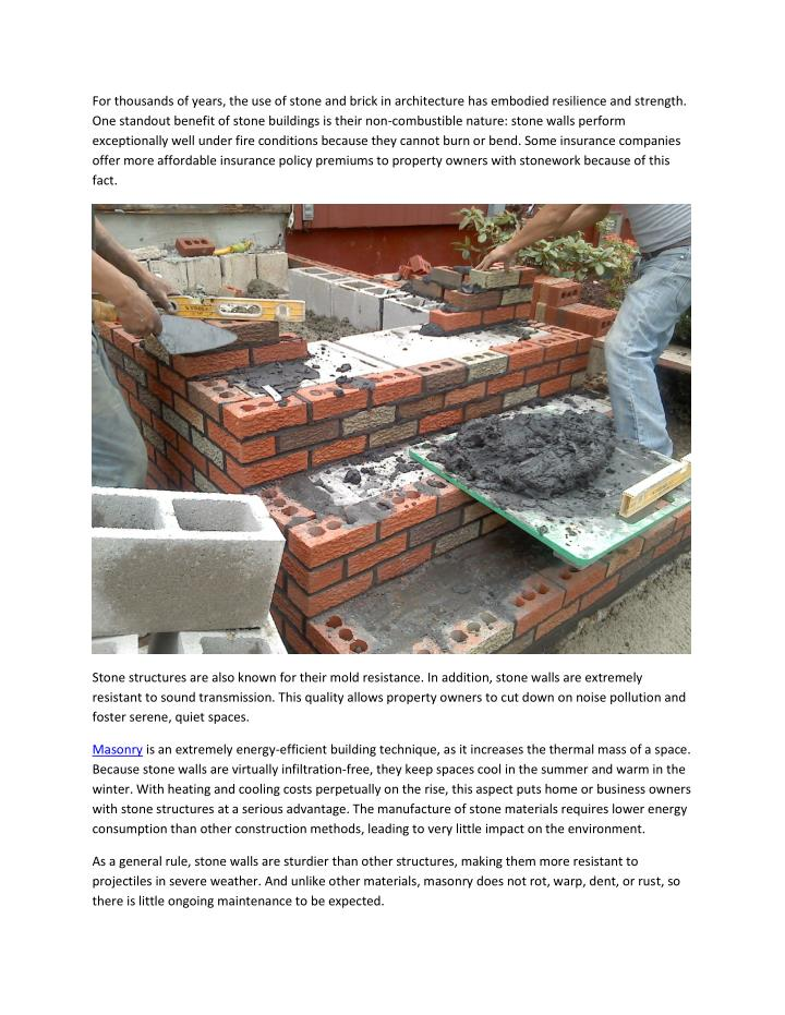 For thousands of years, the use of stone and brick in architecture has embodied resilience and stren...