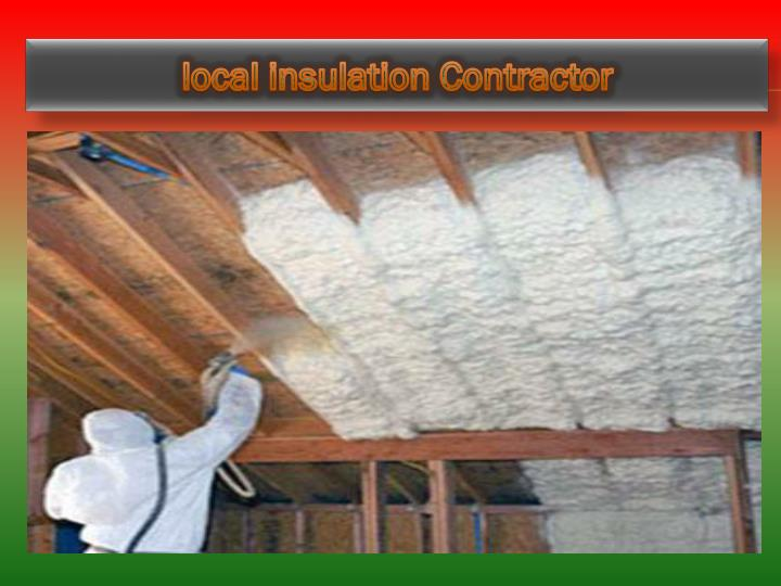 Local insulation contractor