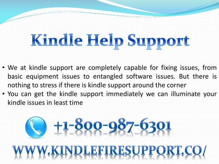 Kindle Help Support