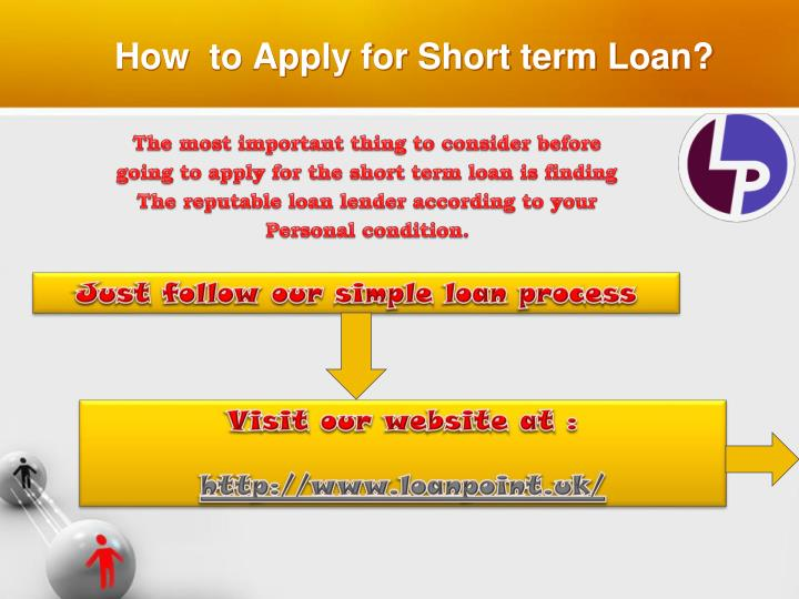 How to apply for short term loan