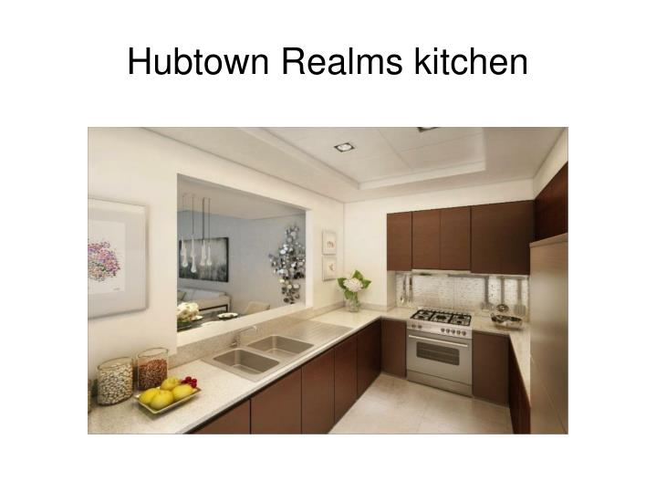 Hubtown Realms kitchen