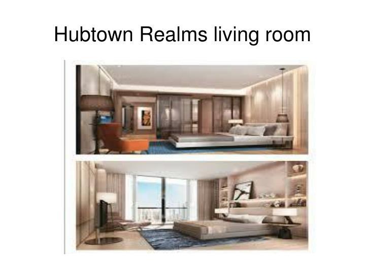 Hubtown Realms living room