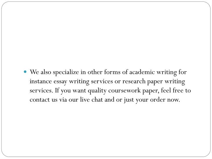 Professional online writing services
