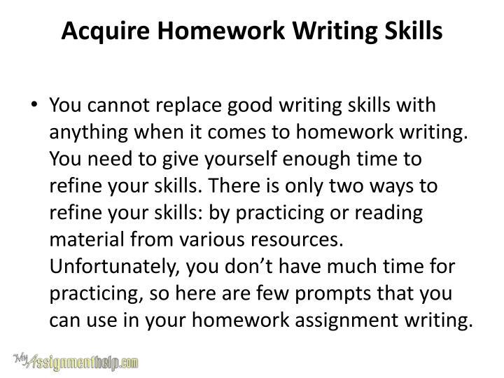 Help essay writing skills ppt