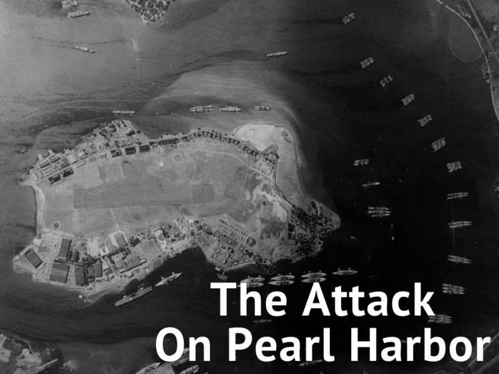 the assault on pearl harbor n.