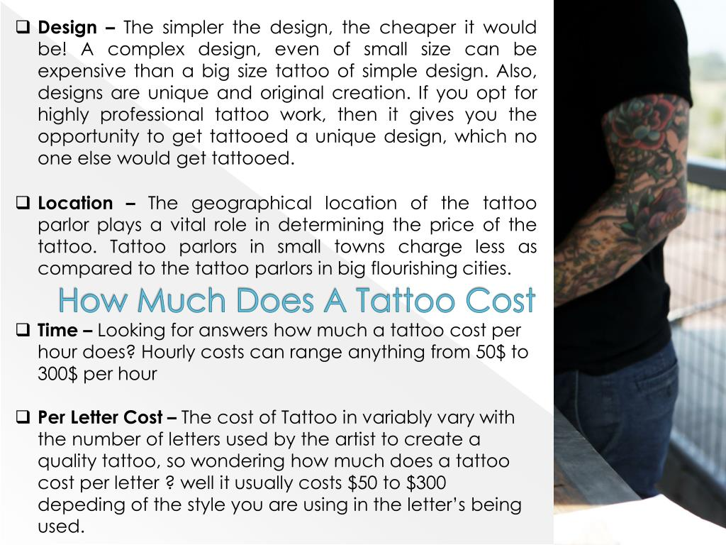 PPT - How much do tattoos cost PowerPoint Presentation - ID:7454451