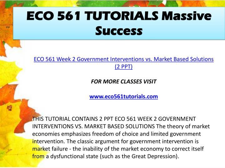 eco 561 powerpoint