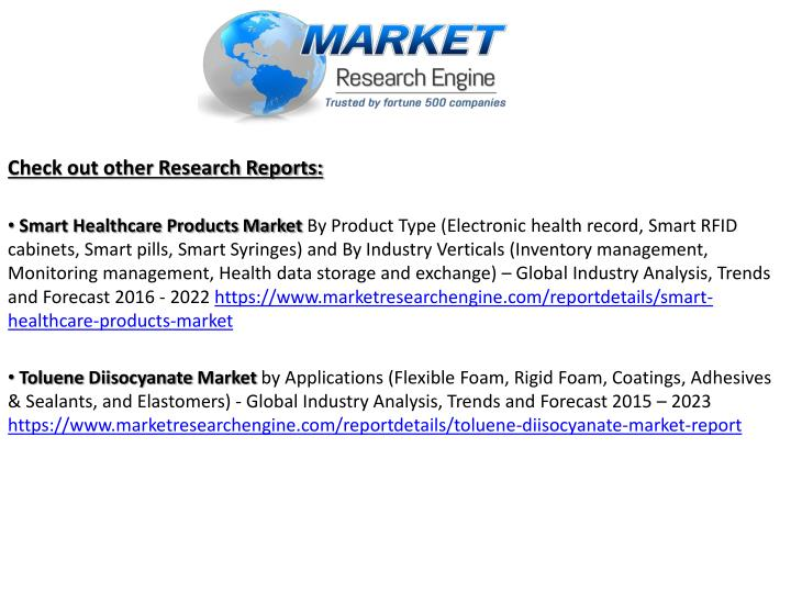 toluene diisocyanate tdi market global industry Global toluene diisocyanate (tdi) industry outlook 2016 market size, share, growth, regional outlook, demand, key players, trends and analysis by 2021.