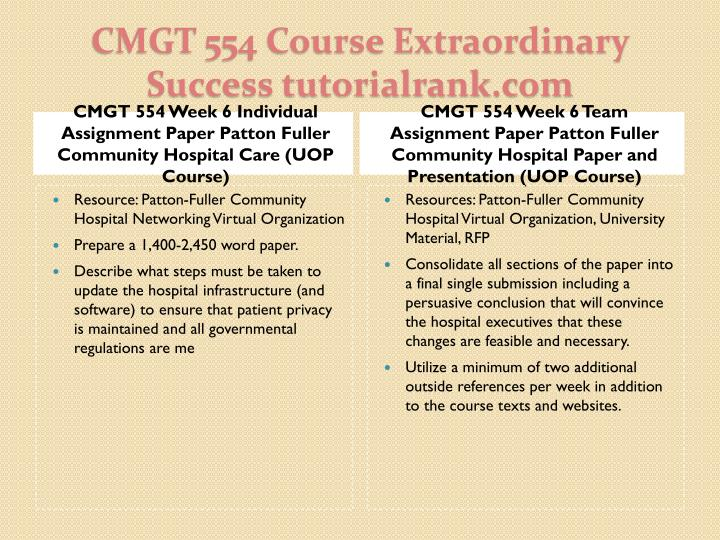 week 2 cmgt 554 it infrastructure 2015 | cmgt 554 it infrastructure cmgt 554 (2 pages cmgt 554 week 5 patton-fuller community startup web 20 university of phoenix cmgt 554 (2 pages.