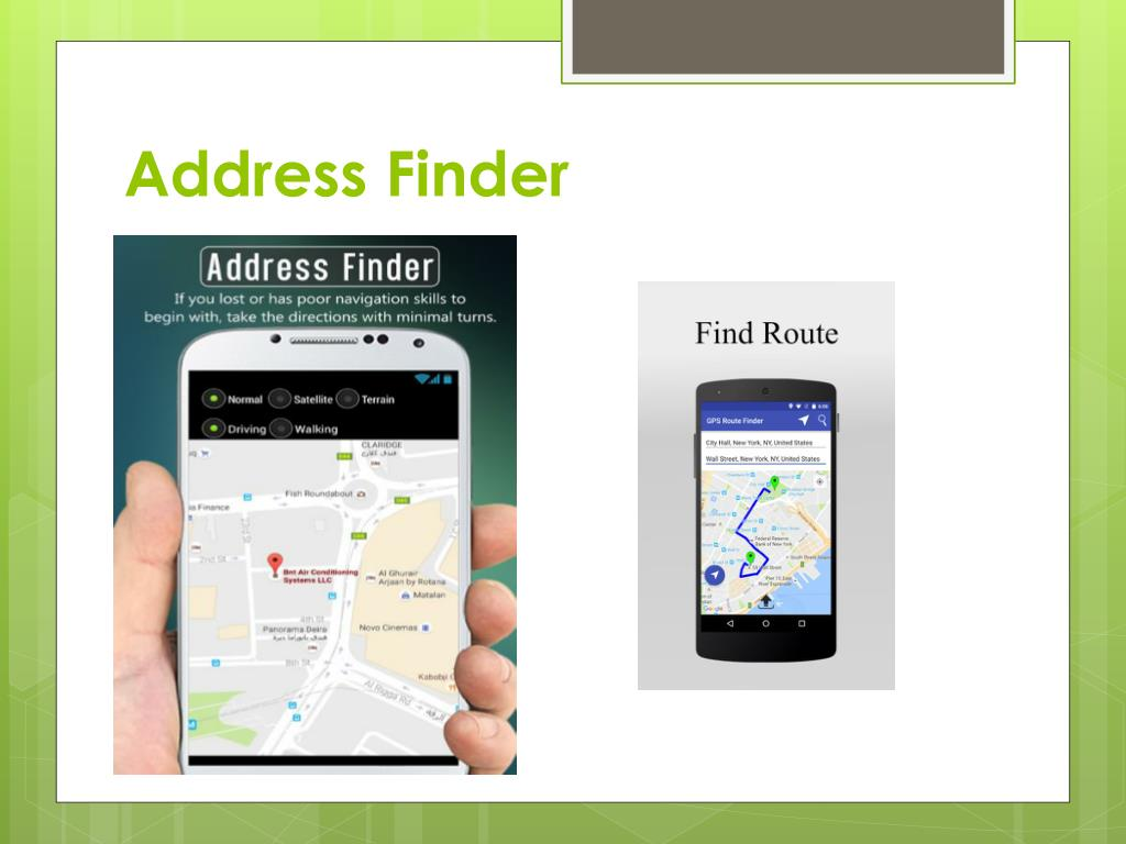 PPT - GPS Route Finder PowerPoint Presentation - ID:7456977