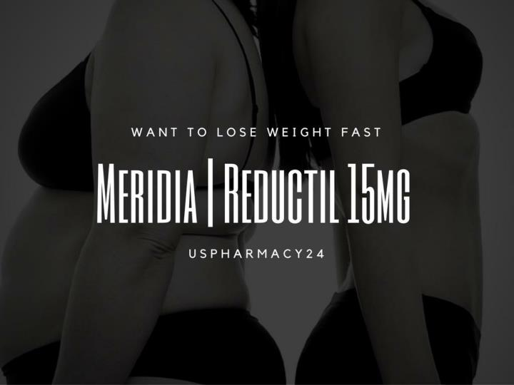 PPT - Weight Loss | Meridia | Reductil 15mg Capsules