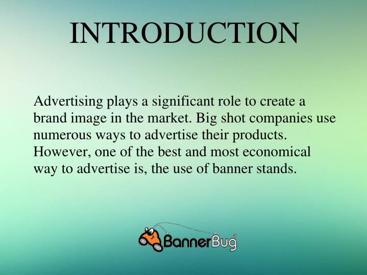 "a introduction of advertising Advertising : advertising a shop wants to attract more customers or clear stocks, so it decides to offer special discounts for a period it advertises in the daily newspapers to inform the public of its ""sale."