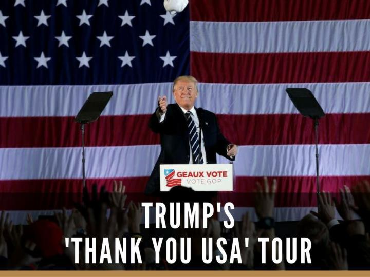 trump s thank you usa tour n.