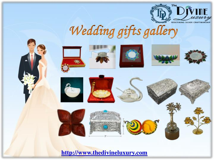 Wedding Gifts Online: PPT - Send Unique Wedding Gifts Online In India