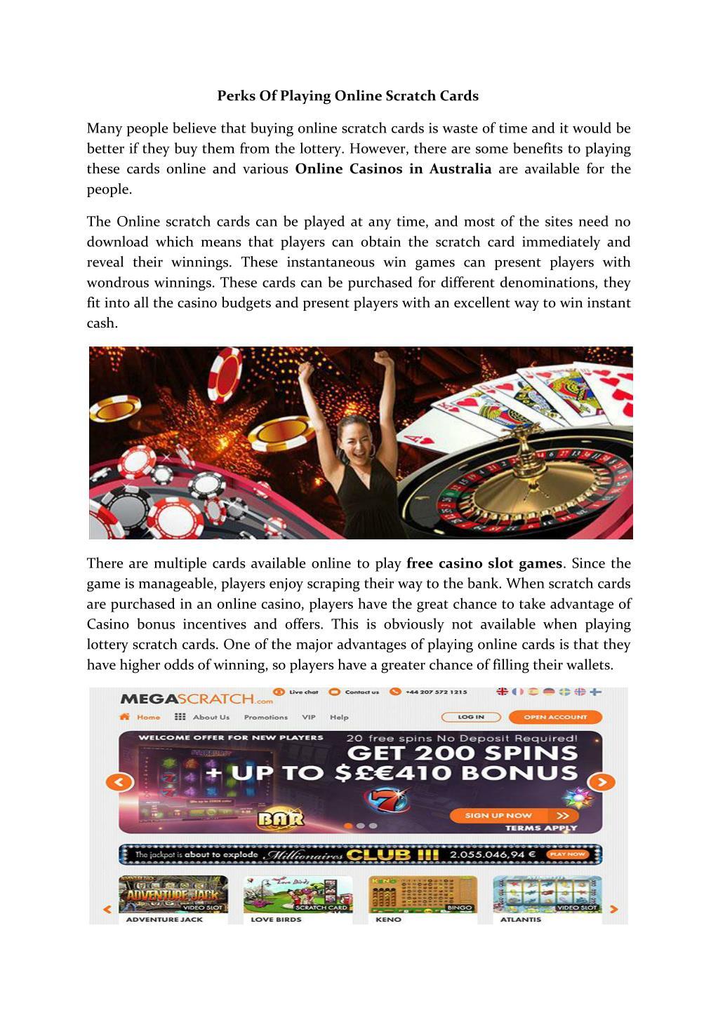 Ppt Online Casinos In Australia Powerpoint Presentation Free