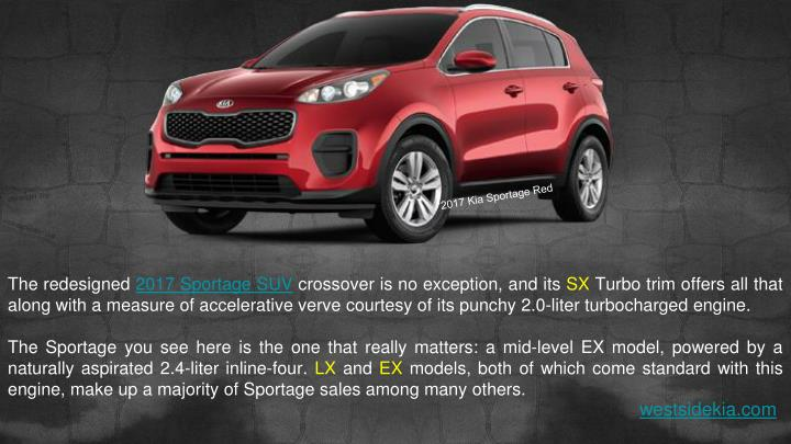 kia sportage suv pricing features powerpoint  id