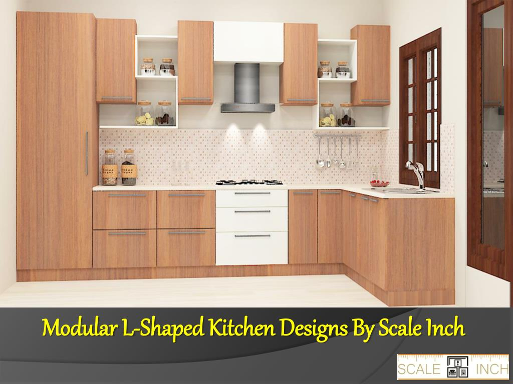Ppt L Shaped Modular Kitchen Designs Powerpoint Presentation Free Download Id 7459750