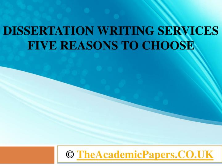 dissertation writing services in uk We are the top dissertation writing services in uk have team of expert dissertation writers in each subject area, our dissertation help is 100% original.