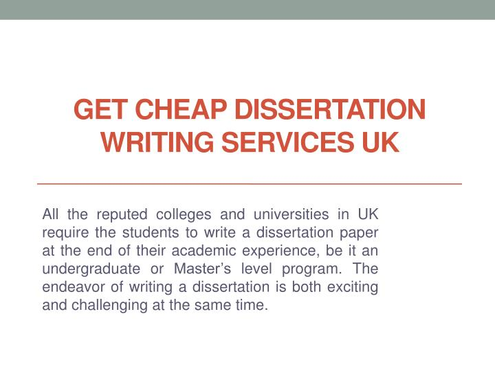 Dissertation writing services malaysia cheap