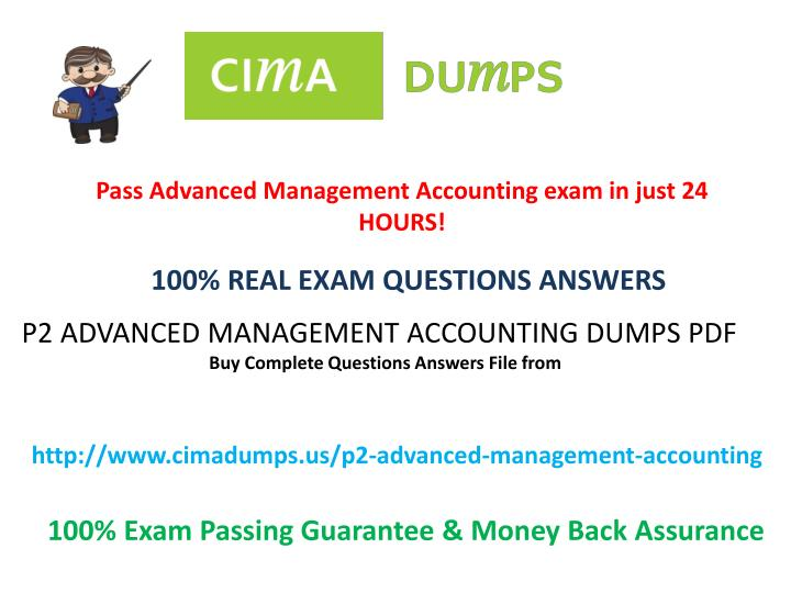 PPT - Updated CIMA P2 all Dumps Exam with PDF file - Cimadumps us