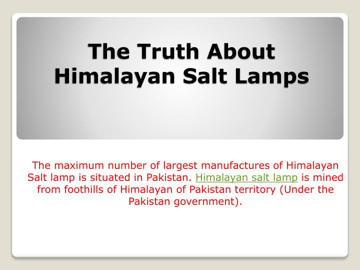 the truth about himalayan salt lamps n.