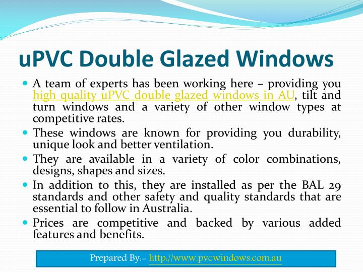 Ppt Benefits Of Installing Double Glazed Windows