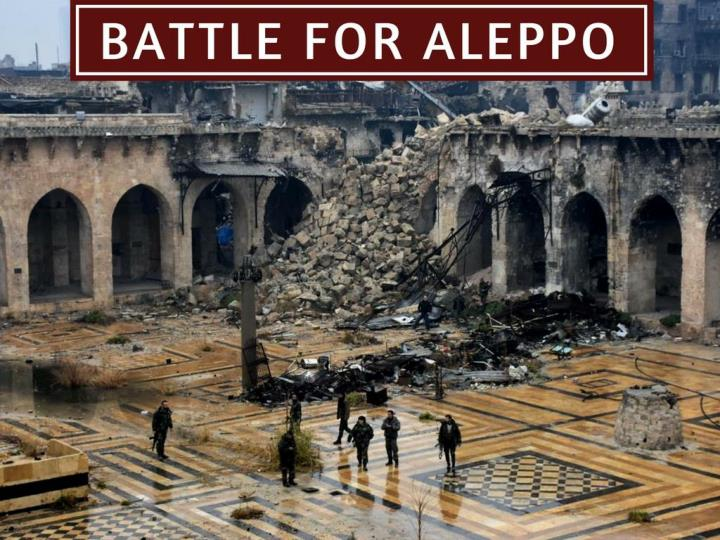 fight for aleppo n.