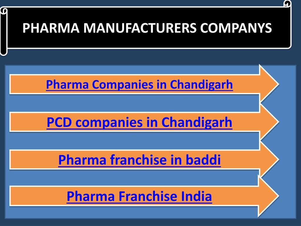 PPT - PCD Pharma Companies in Chandigarh, manufacturers in