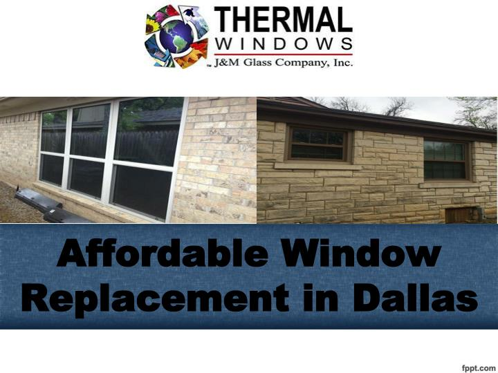 affordable window replacement in dallas n.