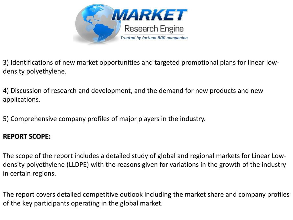 PPT - Linear Low-density Polyethylene (LLDPE) Market to Reach US$ 59