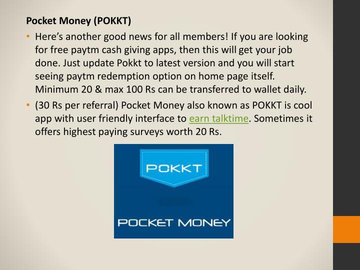 Pocket Money (POKKT