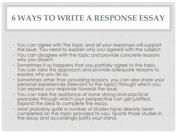 write a response essay Write a works-cited page (or bibliography, depending on your professor's style preferences) include any sources that you cited directly or indirectly if you are asked to include a full bibliography, include every source that you referenced while researching for.