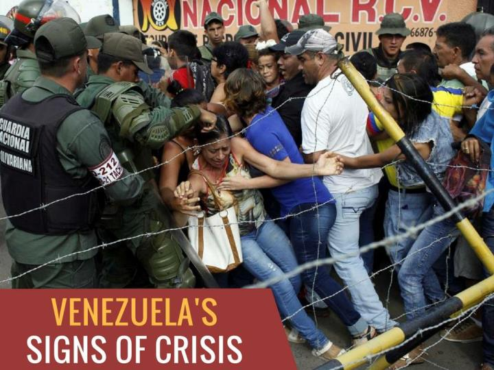 venezuela s indications of crisis n.