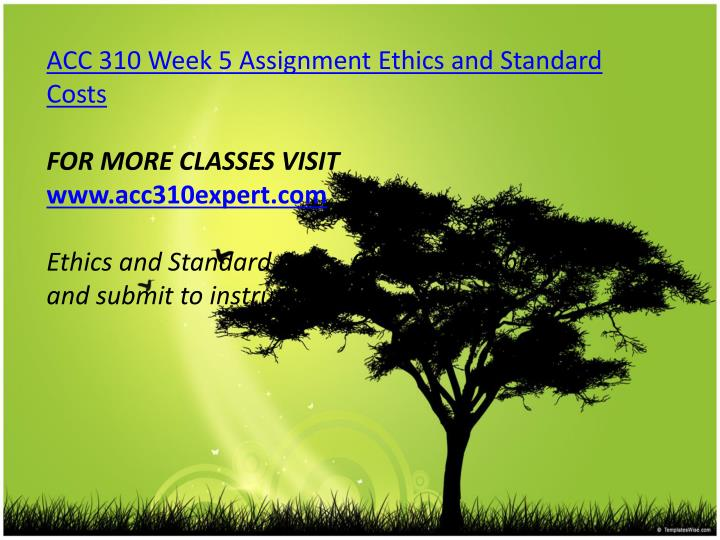 law 310 week 2 assignment Week 7 assignment laws-310-on-b, the legal environment devry university june 18, 2012 factual summary: nice (neighbors invested in a clean environment) is bringing a.