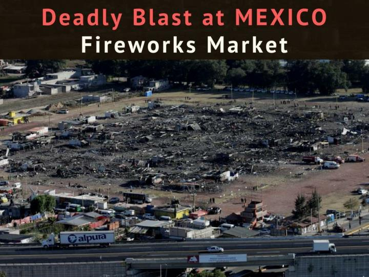 lethal impact at mexico firecrackers market n.